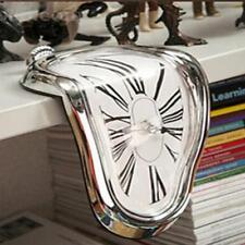 Novel Surreal Melting Distorted Wall Clock Salvador Dali Style Wall Decoration