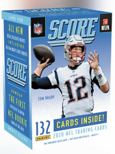 2020 Score Football Sealed Blaster Box 1 Hit Per Box Brady Tribute SHIPS 6/12