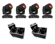 4 x chauvet intimidator spot 355 irc 90W moving head & flightcase paquet bundle