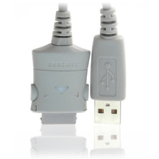 CAVO DATI SAMSUNG PCB181BSE USB ORIGINALE USATO GRIGIO PER TELEFONI CELLULARI
