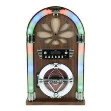 QTX Roadhouse Mini jukebox avec Bluetooth, lecteur CD et radio FM KARAOKE Sound SY