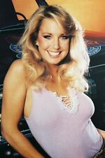 Heather Thomas Sexy Smiling Huge Cleavage With Truck The Fall Guy 11x17 Poster
