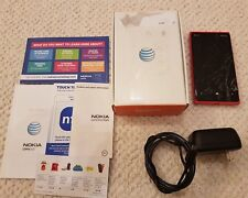 Nokia Lumia 920 - 32GB - Red  (AT&T Wireless) Smartphone Cracked Screen