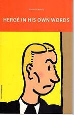 LE MONDE DE HERGE (TINTIN) DOMINIQUE MARICQ RARE EDITION EN ANGLAIS