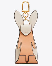 Tory Burch Key Ring Fob Purse Charm Origami Rabbit NEW