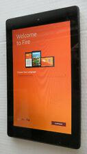 """Amazon Kindle Fire 7"""" 7th Gen x2 Cameras & Micro SD Slot 8GB BLACK VGC F0P3"""