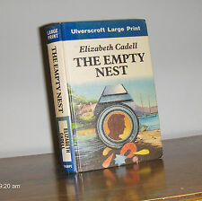 Elizabeth Cadell, the empty nest; hardcover, large print