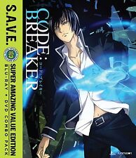 Code Breaker . The Complete Series Collection . Anime . 2 DVD + 2 Blu-ray . NEU