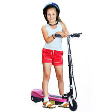 Electric Scooter Motorized Bicycle Folding High Performance for Teens Pink