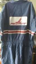 Vintage Piedmont Airlines Ramp Jumpsuit ~ Used~ Large~ Short Sleeve