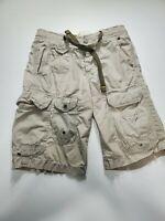 Gap Parachute Cargo Drawstring Shorts Men's Size Extra Small Beige 1969
