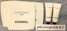Lot of 6 CHANEL BLUE SERUM EYE 3 ml / .1 oz x 2 tubes + 1ml / .03oz x 4 packets