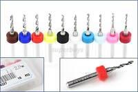 10Pc 1.1 - 2mm HSS Micro Mini Drill Bit Tungsten Steel Dremel Rotary Tool Set