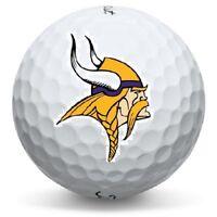 1 Dozen Minnesota Vikings NFL Logo Titleist Pro V1x Perfect Quality Golf Balls