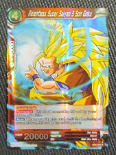 Relentless Super Saiyan 3 Son Goku BT2-004 R Dragon Ball Super TCG NM