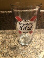 Kronenbourg 1664 Pint Glass Beer