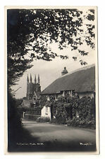 Poughill - Photo Postcard c1940s / Bude