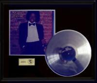 MICHAEL JACKSON OFF THE WALL RARE LP GOLD RECORD PLATINUM  DISC ALBUM FRAME