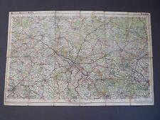 Landkarte, Meinhold-Mittelbach-Karte, Migroka 42 Dresden, Riesa, Bautzen, 1930