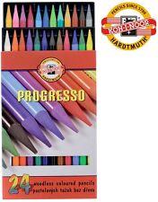 PROGRESSO Original Koh-I-Noor Water Pastel Pencils 24pcs 8758 High Quality