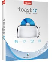 Roxio Toast 17 Titanium | Burn and copy CDs and DVDs, author DVDs | Original