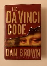 The Da Vinci Code Book Novel by Dan Brown Mystery Suspense Best Selling Author