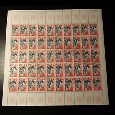 FEUILLE SHEET TIMBRE CROIX ROUGE RED CROSS N°1959 x50 NEUF ** LUXE MNH