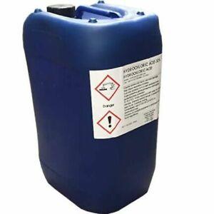 Certikin 5 Litre Hydrochloric (32%) (HCL3205) high strength strong cleaner