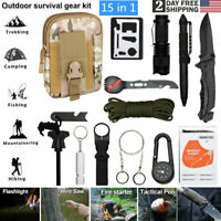 EDC Survival Card Pocket Tactical Hunting Utility Emergency Hiking Tools  US NEW