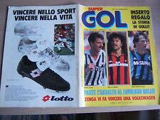 SUPERGOL=N°55 8/1988=POSTER VAN BASTEN/M,ATTHAUS=GULLIT=RENATO