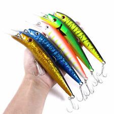 5pcs/set 20cm/45g троллинг приманки гольян рыболовная приманка бас плавучие наживки снасти воблер