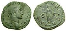Severus Alexander A.D. 222-235 Æ Sestertius 15th emission  A.D. 232 Good VF 4803
