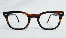 Vintage AO glasses johnny depp frames eyeglasses Optical Arnel Style Amber