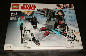 Lego Star Wars First Order Specialists Battle Pack 75197 Brand New Retired Set