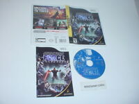 STAR WARS: THE FORCE UNLEASHED game complete in case w/ manual - Nintendo Wii