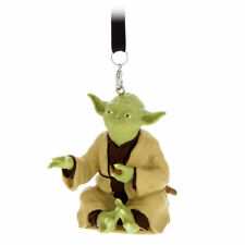 Star Wars Disney Parks Yoda Figural Ornament New With Tag