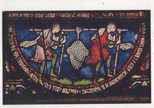 Canterbury Cathedral Spies With Grapes Of Eshcol Glass Tuck Postcard US056