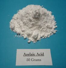 50 grams Azelaic Acid Powder, Nonanedioic Acid 99+% pure