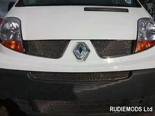 Zunsport Renault Trafic 2007-2010 Complete Front Grille Set 4 piece