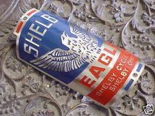 Shelby Eagle Bike Badge Emblem Acid Etched Brass