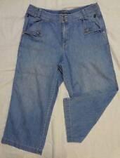 ** LAUREN JEANS CO ** Ralph Lauren Women's Wide Capri Jeans Size 12 Petites 12