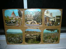Vintage Set Of Coasters Of Scenes Of Nazareth in the Middle East