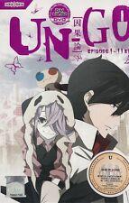 DVD UN-GO ANIME TV 1-11END + Free Gift