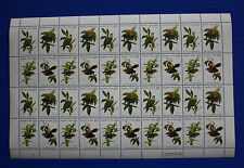 Palau (#5-8) 1983 Palau Birds MNH sheet