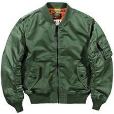Men's Multi Pocket Stylish Flight Bomber Jacket Pilot Coat Casual Outwear Vogue