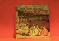KARL BOHM CONDUCTS MOZART OVERTURES - DEUTSCHE GRAMMOPHON - NM LP -W