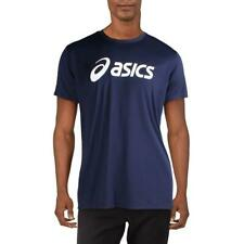 Asics Mens Navy Fitness Training Activewear T-Shirt Athletic Xl Bhfo 7165