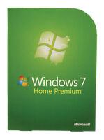 Original Windows 7 Home Premium Sp1 32/64bit (Genuine License Key and DVD) - 1pc