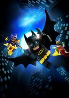 THE LEGO BATMAN MOVIE Movie PHOTO Print POSTER Textless Film Art Will Arnett 001
