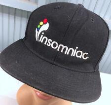 751a6127f4387 Insomniac EDC Electric Daisy Carnival Rave Black Rare Snapback Baseball Cap  Hat